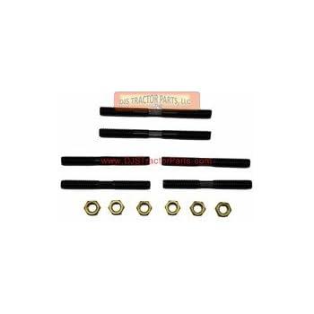 B001 Manifold Stud Set with Brass Nuts RC CA IB Allis Chalmers B C