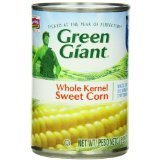 Green Giant Whole Kernel Sweet Corn , 15.25-Ounce (Case of 12)