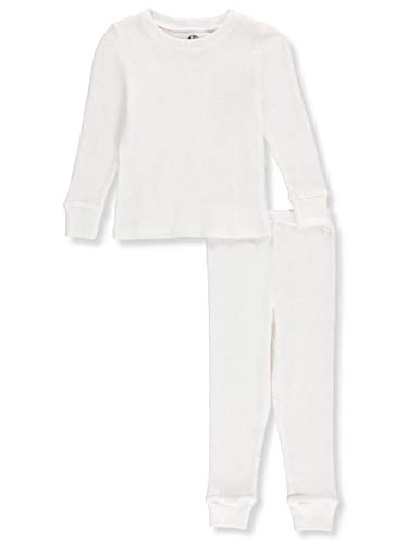 Ice20 Little Boys' Toddler 2-Piece Thermal Long Underwear Set - Off White, ()