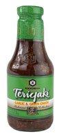 Kikkoman Teriyaki Sauce Garlic & Green Onion -- 20.5 fl oz ()