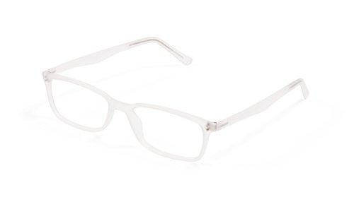 Scojo New York® Gels® The Original Reading Glasses, Manhattan Frame - Crystal (+1.50 Magnification - Eyeglasses Manhattan