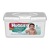 Huggies Natural Care Baby Wipes - Unscented - 64 ct