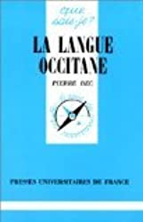 La Langue occitane (Que sais-je)