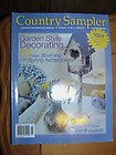 (COUNTRY SAMPLER Magazine May 2001 Volume 18 No. 2 (Country Decorating Ideas & Where to Buy Acessories, Garden Style decorating, 57 pages with Spring Accessories, Collect & Display)