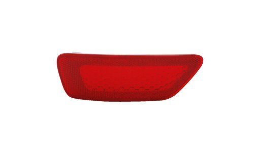 Tyc 17-5287-00 Jeep Passenger Side Replacement Rear Bumper Reflector