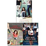 Siobhan Vivian Collection 3 Books Set (The List, Same Difference, Not That Kind Of Girl) (Not That Kind Of Girl Siobhan Vivian)
