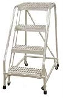 product image for Cotterman A4N1822A4B3C50P6 - Rolling Ladder Steel 70In. H. Gray
