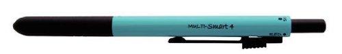 OHTO Multi-Function Pen, MULTI-Smart 4, 0.5 mm Mechanical Pencil, Ballpoint Pen, Blue (MF-15ST4-Blue)
