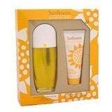 Sunflowers By Elizabeth Arden For Women. Set-edt Spray 3.3 Ounces & Body Lotion 3.3 Ounces & Cream Cleanser 3.3 Ounces