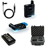 (Sennheiser AVX Camera-Mountable Lavalier Digital Wireless Set (ME2 Lavalier) Bundle with SKB Waterproof Case and BA20 Recharging Battery Pack)