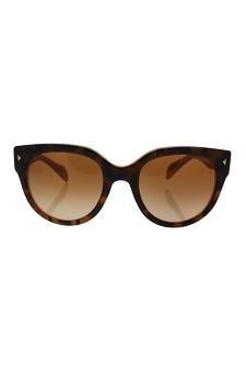 baca258d6d03 Amazon.com : Prada Spr 17o Fal-1z1 - Top Light Havana Opal Yellow/brown  Gradient Sunglasses For Women : Beauty