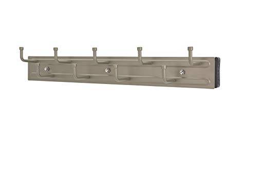 Rev-A-Shelf - BRC-14SN - 14 in. Satin Nickel Pull-Out Belt Rack