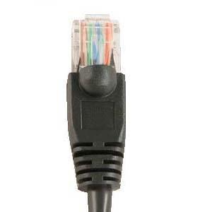 Cat6 Short Ethernet Network Patch Cable RJ45 (0.5 Feet, Black) (Agilent Short)