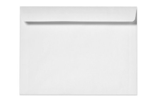 10 X 13 Booklet Envelopes - 24lb. Bright White (50 Qty.)