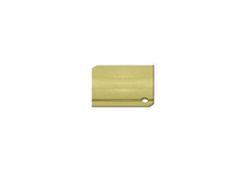 Small Window Lock w Casement Fastener (Set of 10) (Polished Brass)