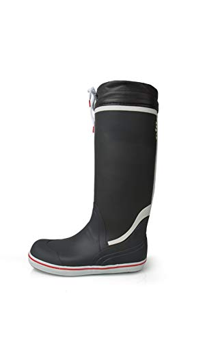 Gill Sailing Boots - Gill Tall Yacht Boot, Color Carbon, Size: 10 (909c43)