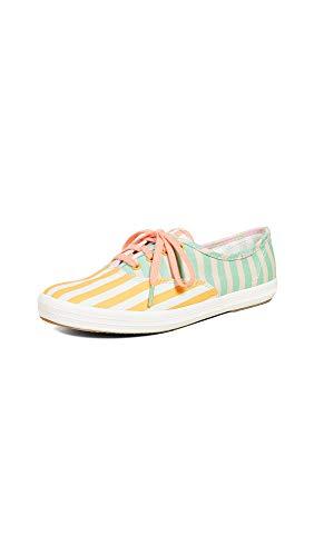 (Keds Women's x Dusen Dusen Champion Stripe Sneakers, Multi, 6 M US)
