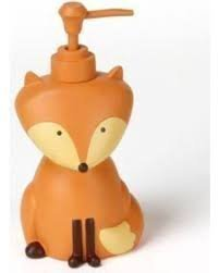 Saturday Knight Novelty Bath with Fox Bear & Skunk FOREST FRIENDS Lotion Dispenser by Saturday Knight