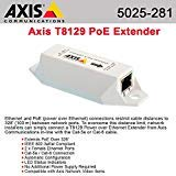 Axis Communications 5025-281 T8129 PoE Extender - Repeater - 10Base-T, 100Base-TX - RJ-45 / RJ-45 - up to 330 ft