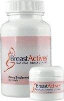 Breast Actives 1 Kit Amélioration KIT sein de Breast Gain Plus 1 à 60 et 1 bouteille Tablet - 2 fl oz pot de crème
