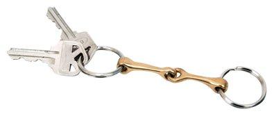 Amazon.com   Metalab Snaffle Bit Keychain - Brass   Horse Bits   Pet ... 50ebf55889b7