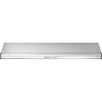 FHWC3040MS 30 Standard Under Cabinet Hood With 330 CFM External Exhaust Dual Halogen Lights Convertible Exhaust Duct Options Dishwasher-Safe Filters In Stainless Steel - External Exhaust Duct
