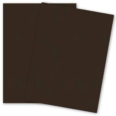 (Popular Brown Hot Fudge 8-1/2-x-11 Paper Cardstock 250-pk - PaperPapers 176 GSM (65lb Cover) Letter size Econo Card Stock Paper - Business, Card Making, Designers, Professional and DIY Projects)