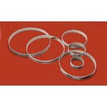 World Cuisine Paderno Tart Pastry Ring, 2 3/4 inch Diameter -- 4 per case