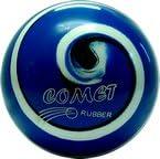 EPCO Duckpin Bowling Ball- Comet Pro Rubber - Royal, Black & White Single Ball