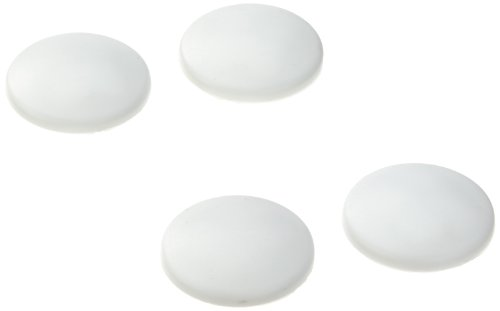 RUCO V610 Wall Bumpers in 4-Piece Set, White ()