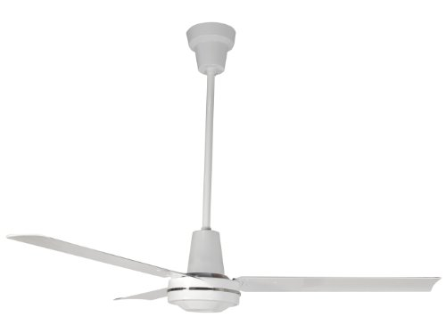 Leading Edge 48201 Heavy Duty Ceiling Fan, 21000 CFM, White