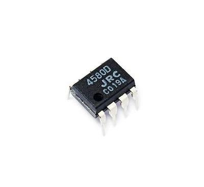 10pcs IC DIP-8 4580d amplificadores operacionales nueva ...