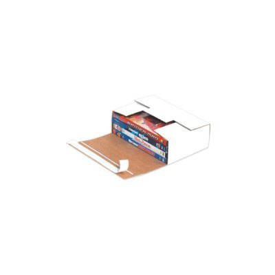 Self-Seal DVD Mailers, 7 11/16 x 5 7/16 x 2 7/16 - 200 EACH PER BUNDLE [PRICE is per BUNDLE] by Shipping Supply