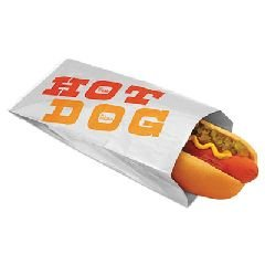 Foil Lam Hot Dog Bg 3.5X1.5X12 King Sz 1M