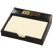 Manhasset Post-It Holder (Silk Screen Only) 50 QUANTITY- $17.15 EACH PROMOTIONAL PRODUCT / BULK / BRANDED with YOUR LOGO / CUSTOMIZED (Notes It Promotional Post)