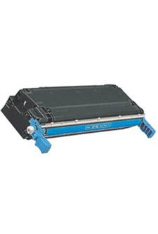 HP Color LaserJet 5500, 5550 Series [Cyan] Toner Cartridge - YIELD 12000 --- COMPATIBLE --- [C9731A] (5550 Toner Series Cyan)