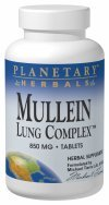 Mullein Lung Complex Planetary Herbals 180 Tabs