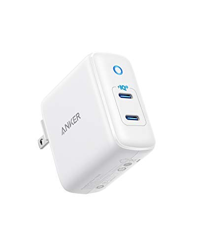 Anker 36W 2-Port PIQ 3.0 USB C Charger, PowerPort III Duo Type C Wall Charger, Foldable Plug, Power Delivery for iPhone 11/11 Pro / 11 Pro Max/XR/Xs/Max/X, Galaxy, Pixel, iPad Pro and More by Anker