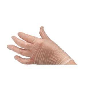 AMBITEX Non-Sterile Powder-Free General Purpose Vinyl Glove Large Case of 1000