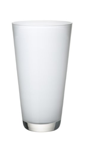 Villeroy & Boch Verso Vaso Piccolo Arctic Breeze, 25 cm, Vetro, Bianco