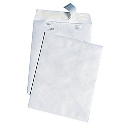 Survivor R3140 White Leather Tyvek Mailer, 10 x 13, White (Box of 100)