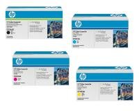HP CE264X Black CF031A Cyan CF032A Magenta CF033A Yellow For CM4540 MFPPack of 4. Sold as 1 of each.