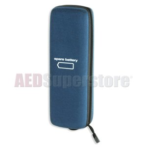 Battery Bag: Attaches to 9300 AED G3 Carrying Case - 166-0418-001
