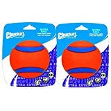 Chuckit! Dog Fetch Toy Ultra Ball Durable Rubber 4-inch XX-Large 2 Pack