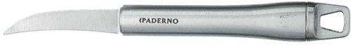 Paderno World Cuisine Bird's Beak Knife, Stainless Steel Blade & Handle, 7 5/8