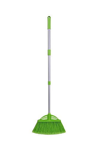 Price comparison product image Xifando Three-Section Telescopic Aluminum Alloy Rod Long-Handled Broom