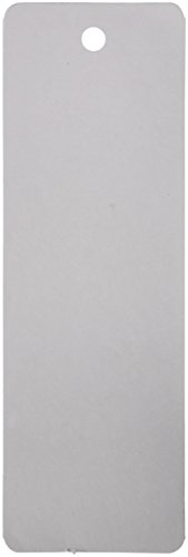 - Hygloss 42615 Blank Bookmark, Acid-Free, Bright, Fade-Resistant, 2