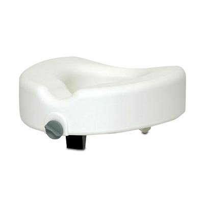 Clamp-On Raised Toilet Seat - 1 Each / Each by ProBasics
