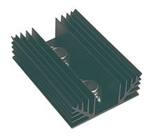 ABL HEATSINKS 520AB1250MB(TO-3X2) HEAT SINK by ABL HEATSINKS