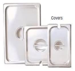 - Adcraft Slot Cover For 1/2 Size Insert Pan (Cst-H/Sl)